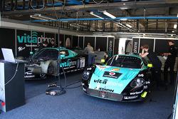 Vitaphone Racing pit area