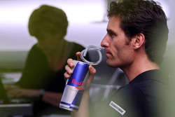 Mark Webber, Red Bull Racing and his manager and girlfriend Ann Neal