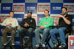Kasey Kahne, Kyle Petty, Kyle Busch and Tony Stewart