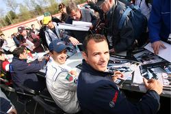 Autograph session: Pedro Lamy and Stéphane Sarrazin