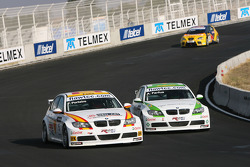 Felix Porteiro, BMW Team Italy-Spain, BMW 320si, Augusto Farfus, BMW Team Germany, BMW 320si