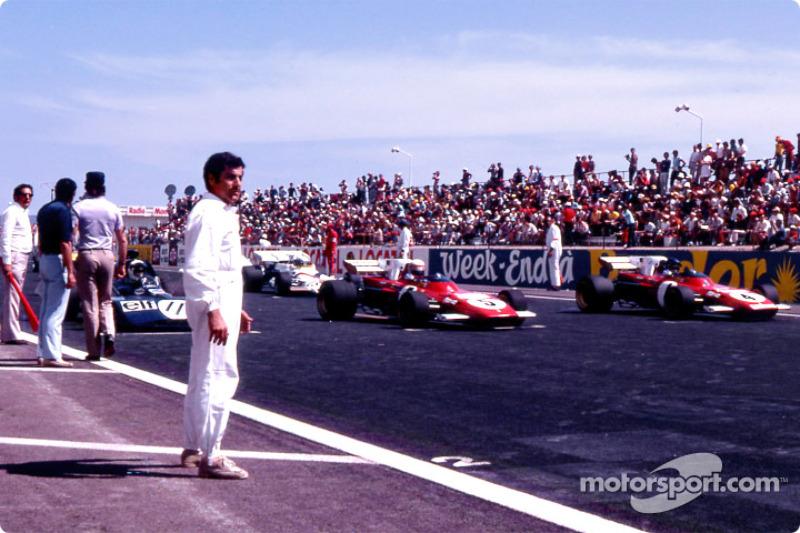 En pole : Jackie Stewart