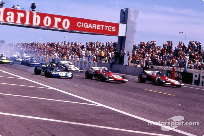 На «Поль Рикаре» прошло 14 Гран При Франции. Первый состоялся в 1971 году