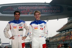 Neel Jani, driver of A1 Team Switzerland and Alexandre Imperatori, driver of A1 Team Switzerland