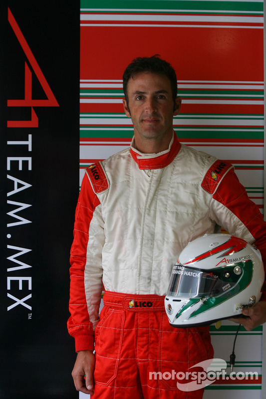 Jorge Goeters, driver of A1 Team Mexico