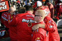 Juan Pablo Montoya's pit crew