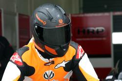Michael Schumacher beim Motorradfahren