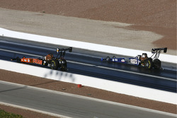 Antron Brown (far) Cory McClenathan (near)