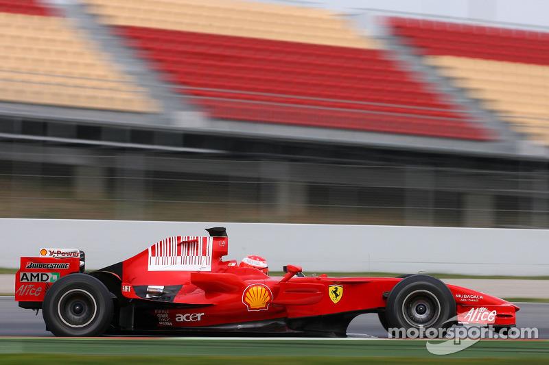 2008 год: Ferrari
