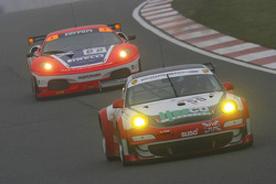 #59 Trackspeed Racing Porsche 997 GT3 RSR: David Ashburn, Richard Williams