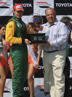 Podium: race winner Will Power