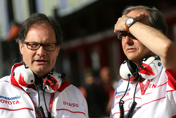 Frank Dernie, Toyota Racing, John Howett, Toyota Racing, President TMG