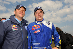 Kris Nissen and Carlos Sainz