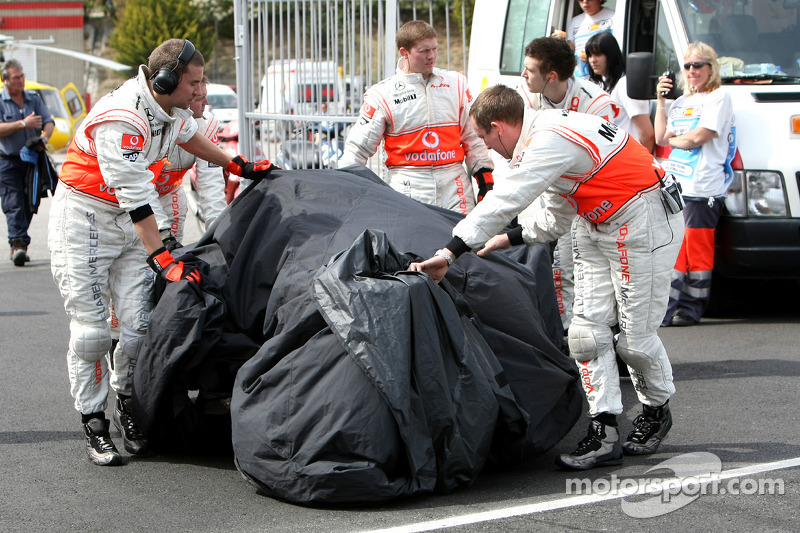 Хейккі Ковалайнен: Гран-прі Іспанії 2008 року в Барселоні