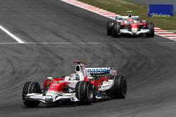 Jarno Trulli, Toyota Racing, Timo Glock, Toyota F1 Team