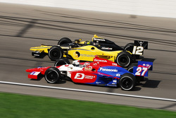 Hideki Mutoh and Tomas Scheckter