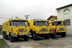 Tatra Team: the Tatra 815-2ZO racing and assistance trucks