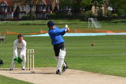 James Winslow, driver of A1 Team Great Britain at the Kent Cricket ground