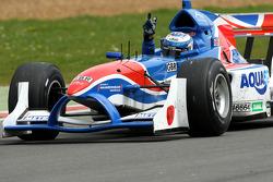 Race winner Robbie Kerr