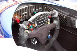 Vitor Meira's steering wheel