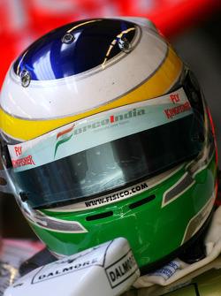 Helmet of Giancarlo Fisichella, Force India F1 Team