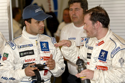 Pedro Lamy and Jacques Villeneuve