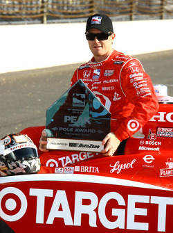 Indianapolis 500 Peak Motor Oil Pole winner Scott Dixon