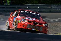 #102 Subaru Impreza: Mike Rimmer, Chris Rimmer, Nick Barrow, Llynden Riethmuller