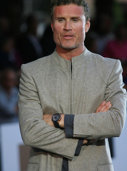 David Coulthard, Red Bull Racing Amber Fashion which benefits the  Elton John Aids Foundation