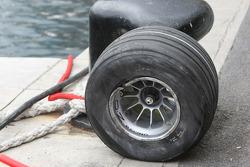 Wheel of David Coulthard, Red Bull Racing
