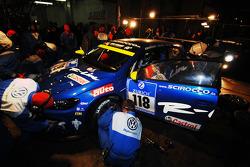 #118 Volkswagen Motorsport VW Scirocco: Thomas Mutsch, Florian Gruber, Jimmy Johansson