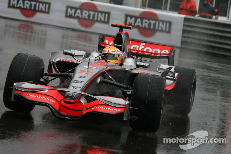 Primeira vitória de Hamilton em Mônaco, em 2008