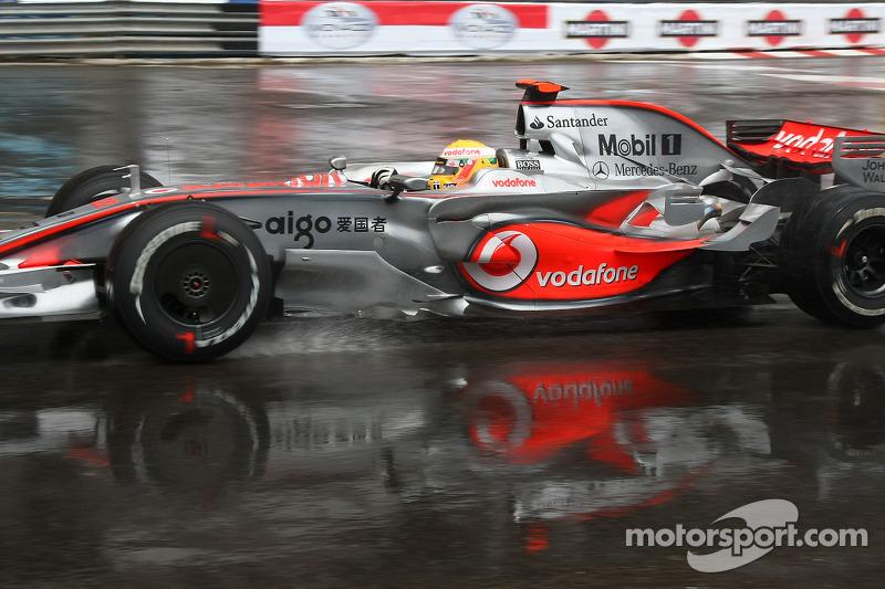 2008 Monaco GP: Lewis Hamilton, McLaren Mercedes MP4-23