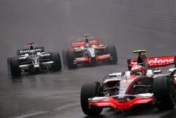 Nico Rosberg, Williams F1 Team, Giancarlo Fisichella, Force India F1 Team
