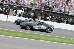 Two Corvette pace cars