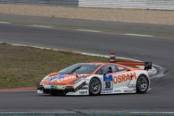 #90 Raeder Motorsport Lamborghini Gallardo: Hermann Tilke, Dirk Adorf, Patrick Simon