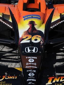 Marco Andretti's car