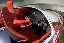 Cockpit du bateau Le Colibri