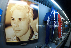 Formula One area: Jacques Villeneuve display