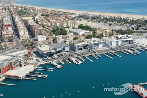 Construction of Valencia City Grand Prix Circuit