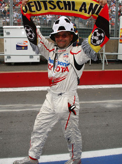 A German Toyota F1 Team member