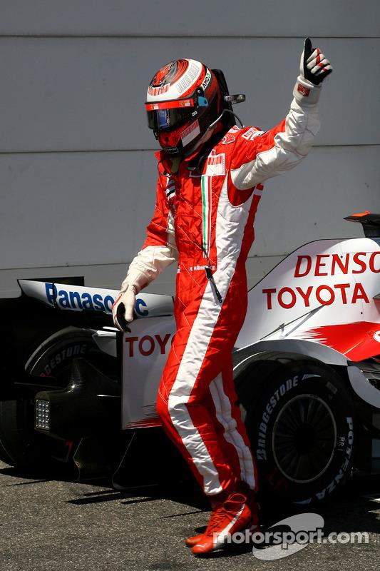 Ganador de la Pole Position Kimi Raikkonen, Scuderia Ferrari