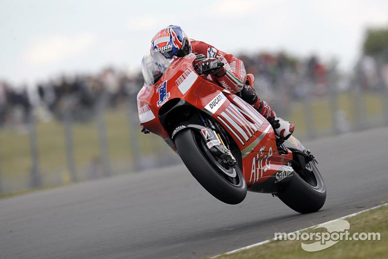 2008 - Donington: Casey Stoner, Ducati Desmosedici GP8