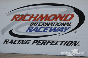 The Richmond logo on the media center