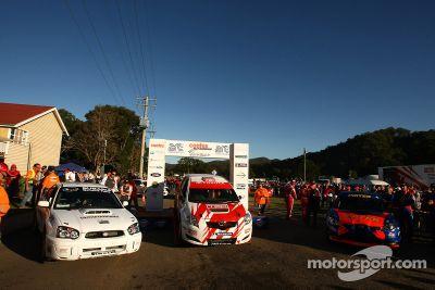 Manche 3 de l'ARC : rallye du Queensland
