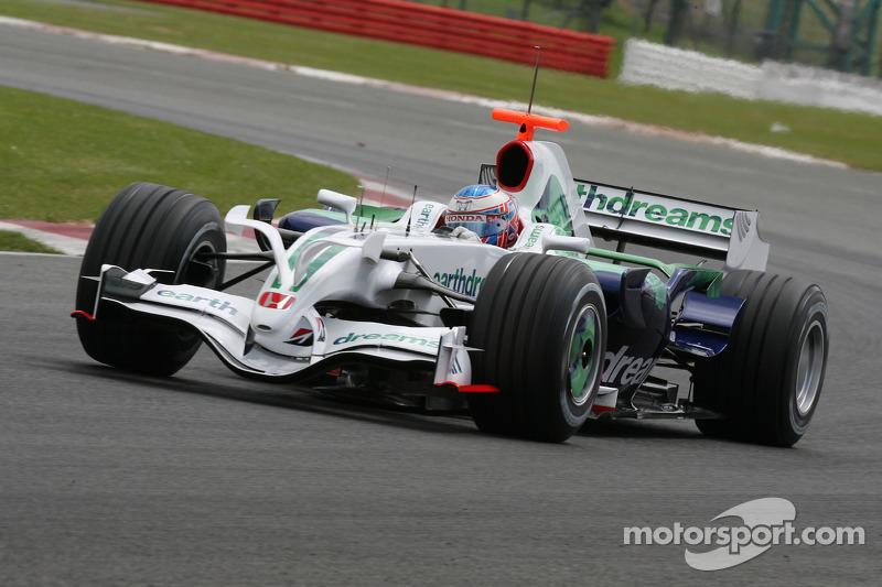 2008 - Honda RA108: 18º lugar no Mundial de Pilotos, com três pontos