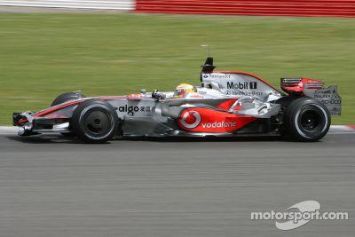 Testfahrten in Silverstone, Juni