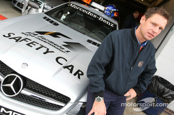 Bernd Maylander, FIA F1 & GP2 safety car driver