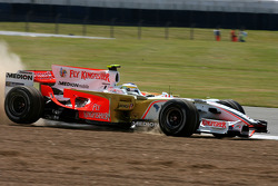 Giancarlo Fisichella, Force India F1 Team, VJM-01 in the gravel