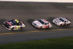 Dale Earnhardt Jr., Carl Edwards and Kyle Busch